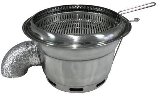 Bếp nướng hút khói âm kiểu Hàn Quốc